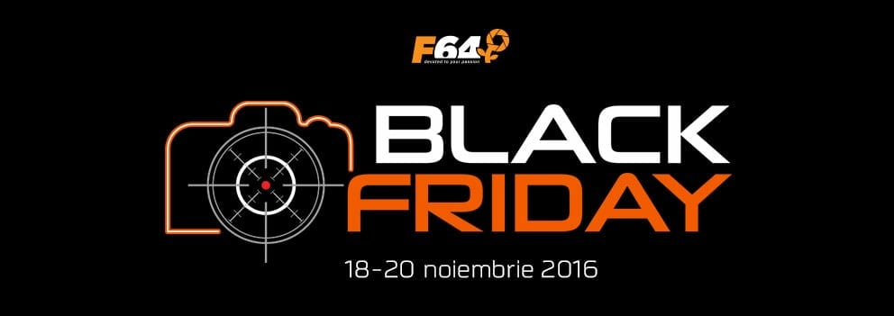 """F64 ține Black Friday între 18 și 20 noiembrie, sub numele """"Vânătoarea de oferte"""""""