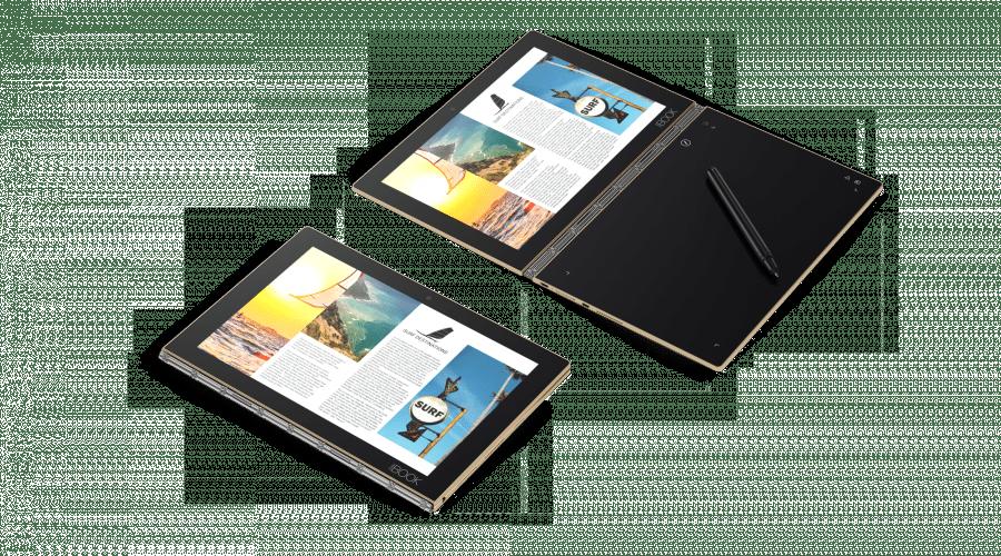 Lenovo lansează în România Yoga Book, cea mai subțire și ușoară tabletă 2-în-1