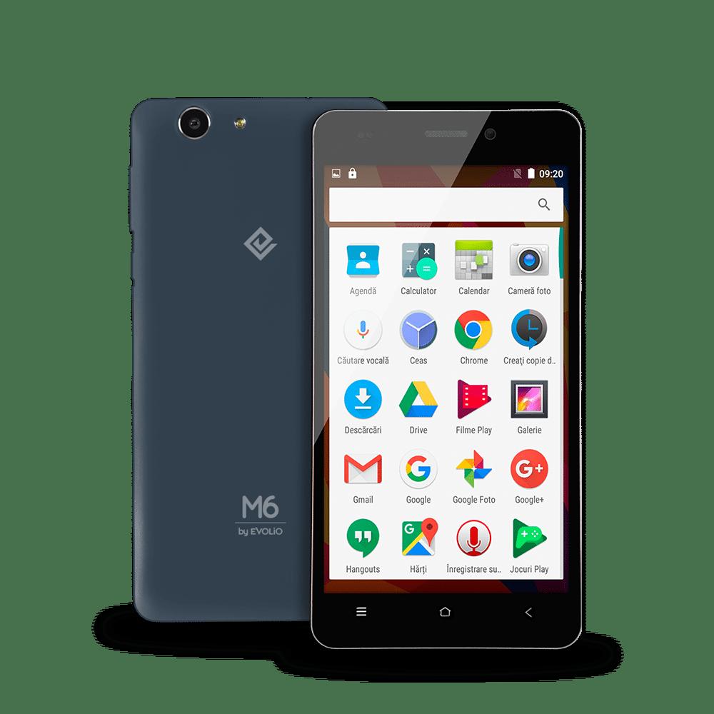 Evolio M5Pro și M6, cele mai accesibile smartphone-uri cu Android 6.0