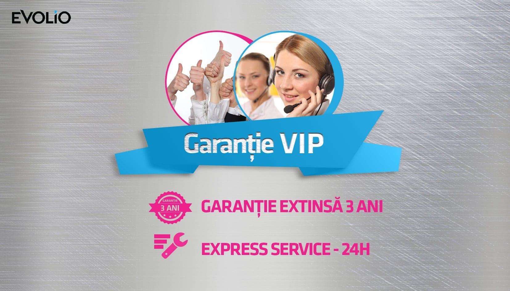 Evolio lansează Garanția VIP
