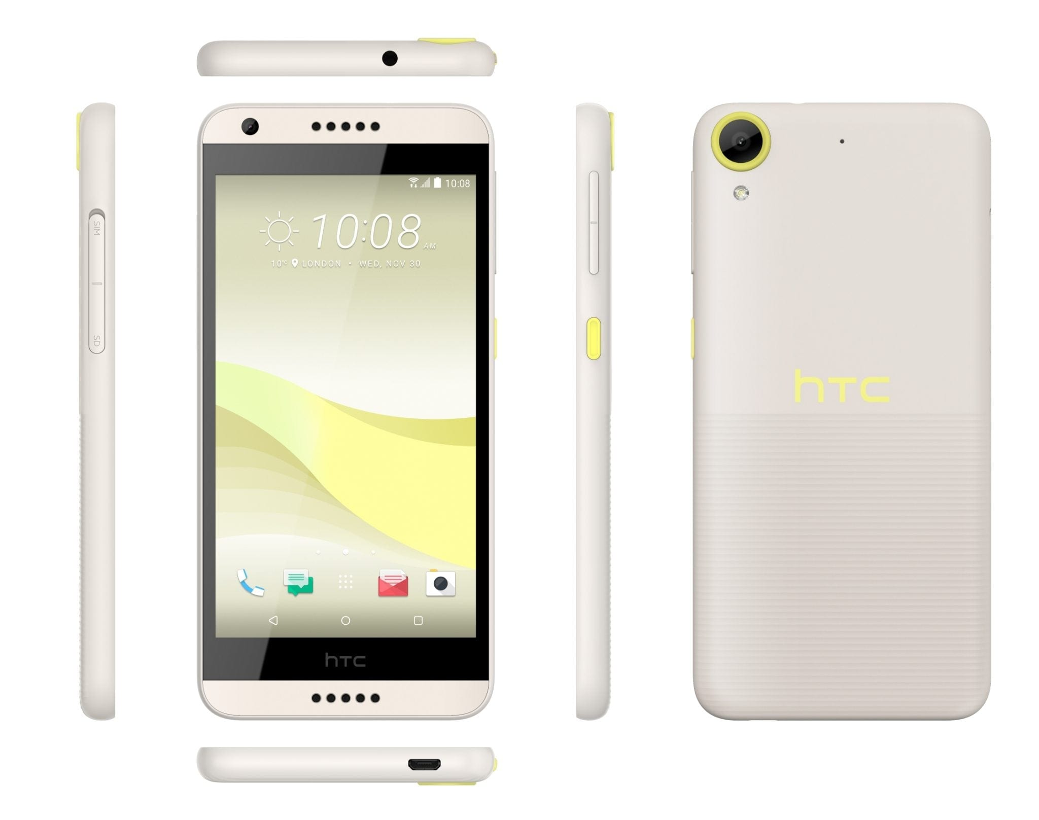 HTC Desire 650 Lime Light