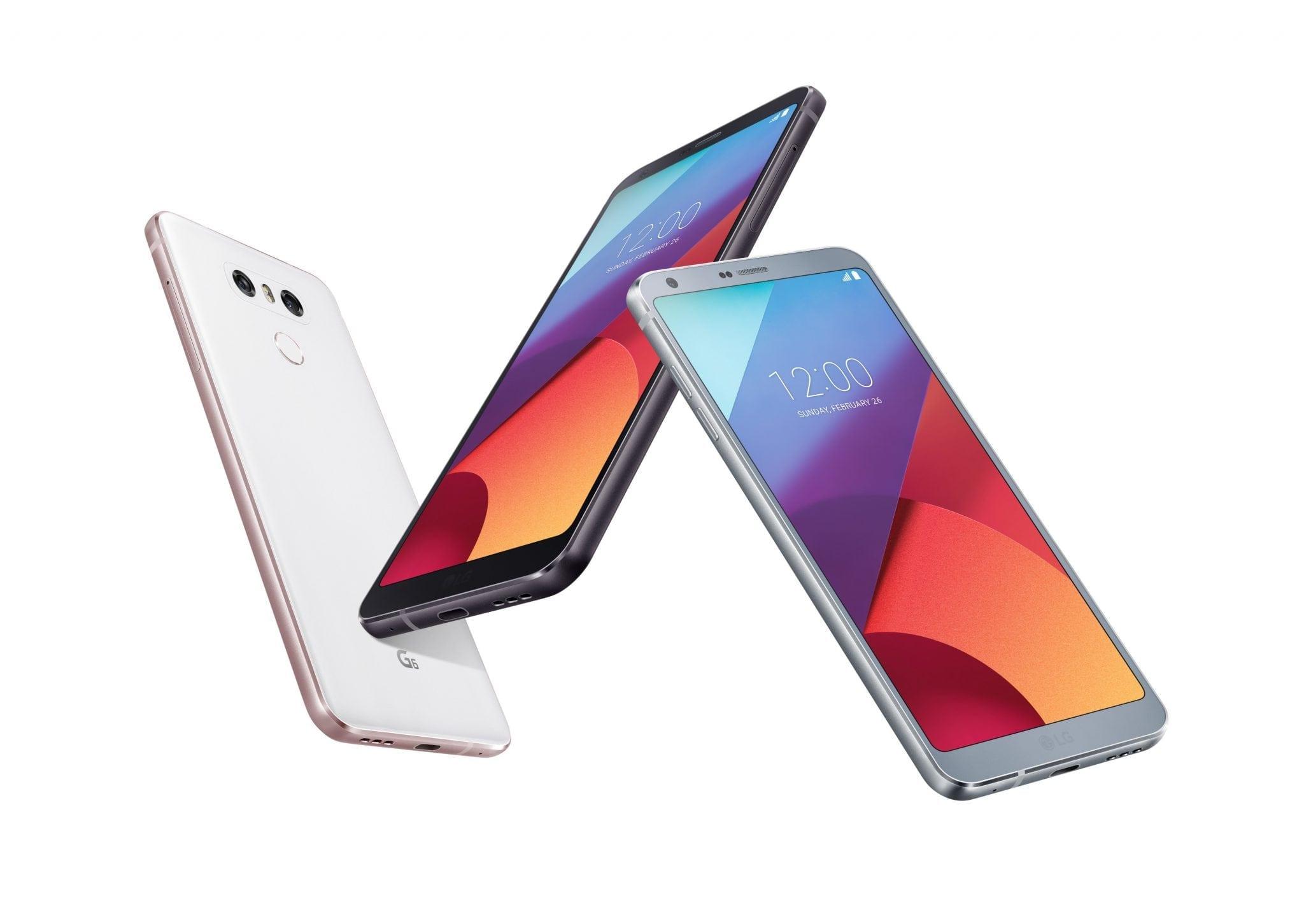 LG G6, în oferta Vodafone
