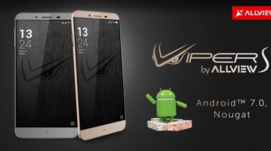 Allview V2 Viper S va primi update la Android 7.0