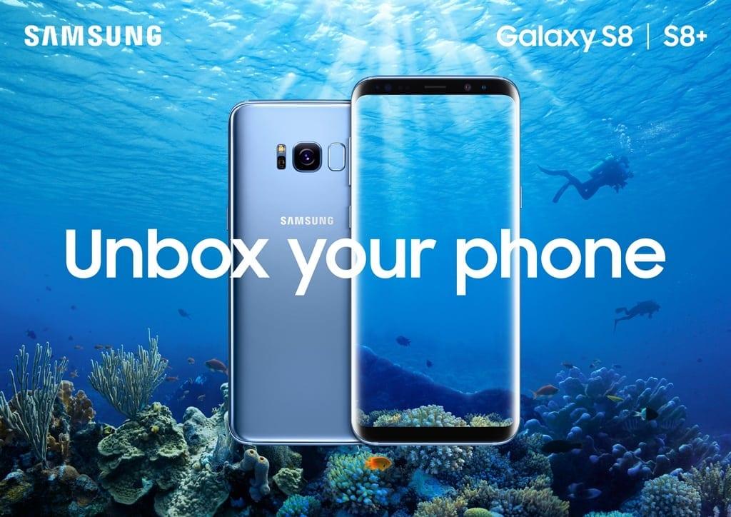 Samsung Galaxy S8 și S8+ în prezentare video