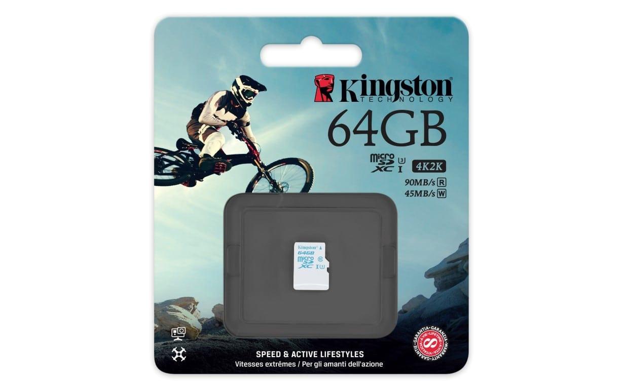 Kingston prezintă seria Gold de carduri microSD UHS-I U3