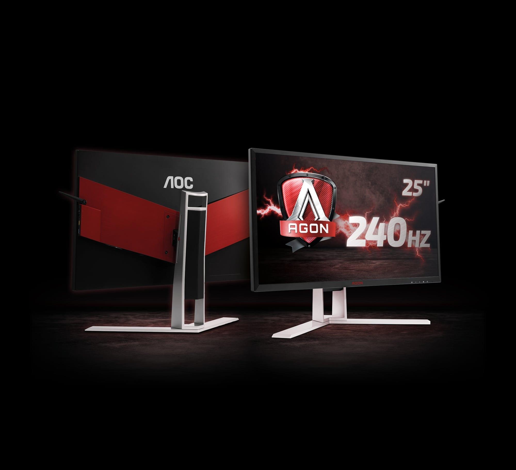 AOC lansează monitorul AGON G-SYNC de 240Hz