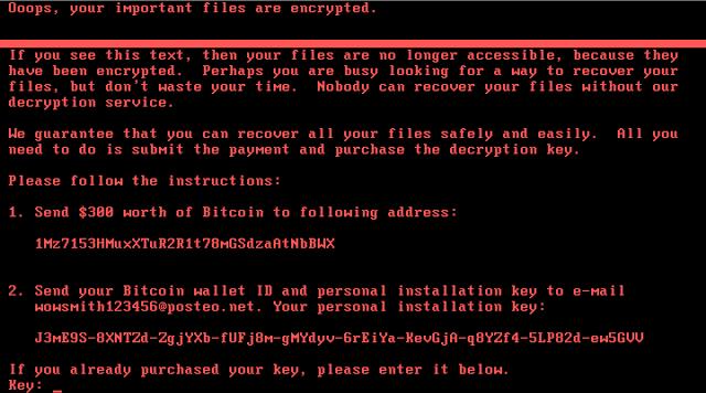 Nouă alertă ransomware!