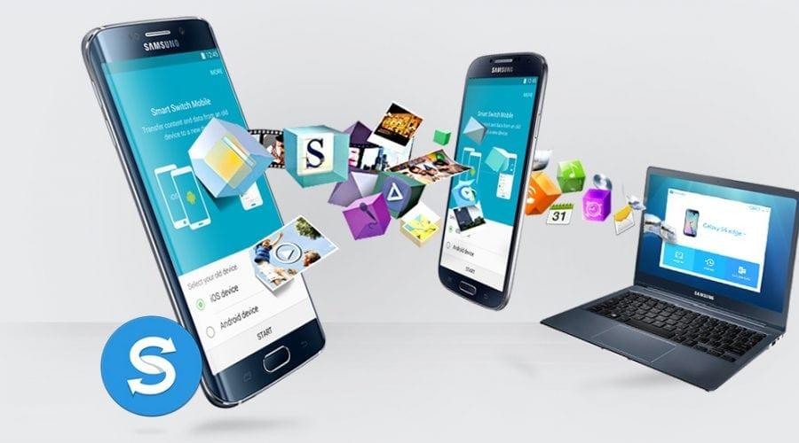 Samsung Smart Switch în prezentare video