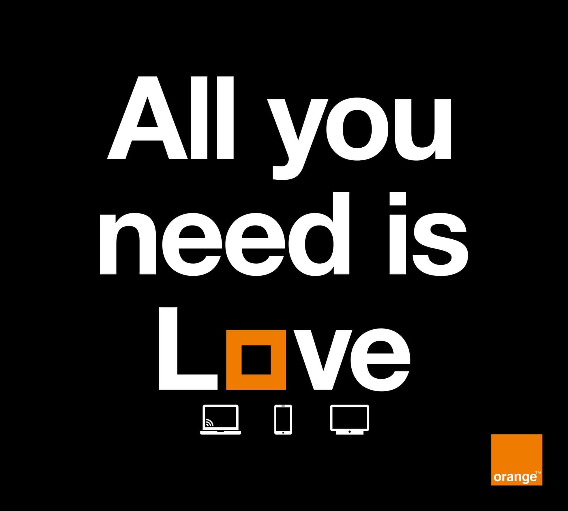 Orange introduce oferta Love – internet, televiziune și mobil, într-un singur pachet