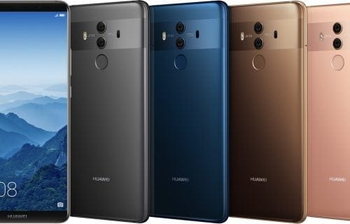 Huawei Mate 10, Mate 10 Pro și Porsche Design Mate 10 în prezentare video