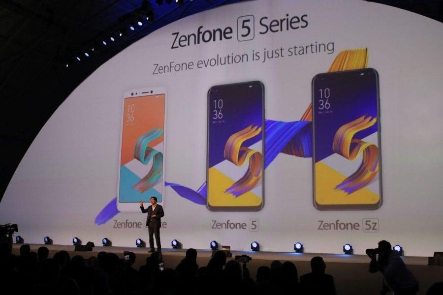 MWC2018: Asus lansează Zenfone 5, Zenfone 5z și Zenfone 5 lite