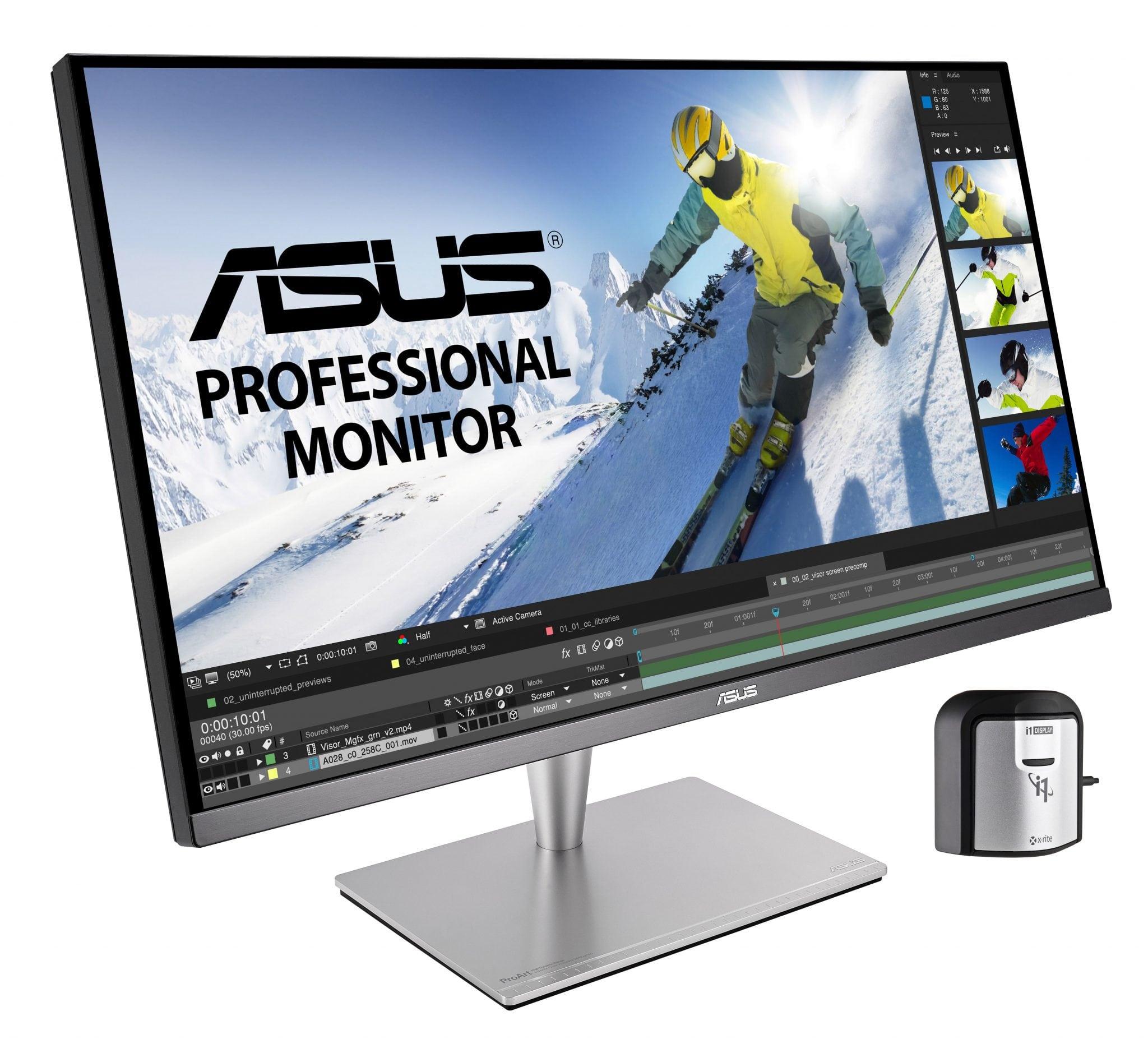 ASUS ProArt PA32UC, un monitor 4K dedicat editării foto video