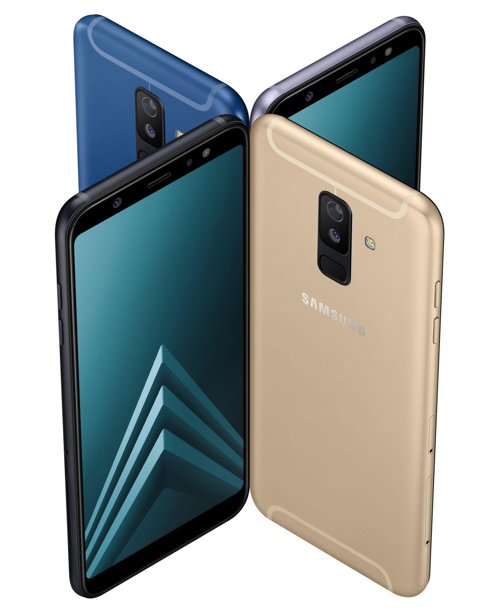 Samsung prezintă local noile Galaxy A6 și A6+