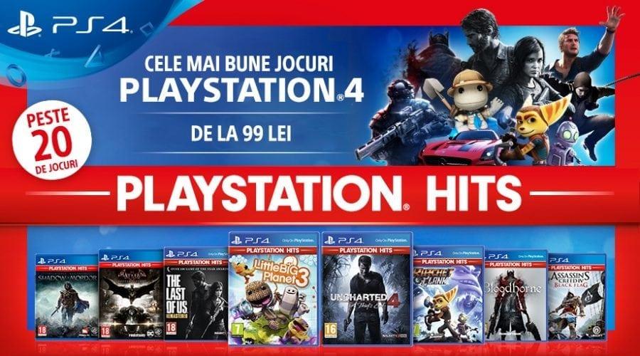 PlayStation lansează PlayStation Hits, cu cele mai bune jocuri pentru PS4