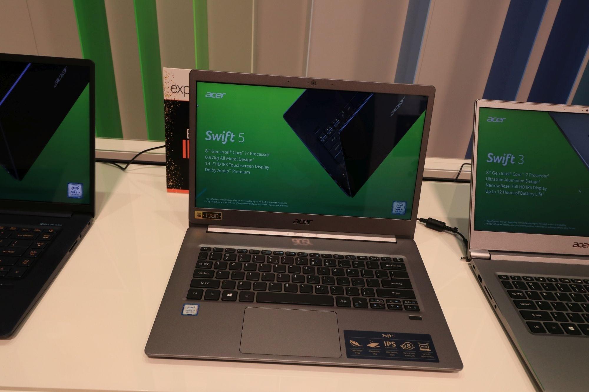 IFA2018: Acer a prezentat Swift cel mai ușor laptop de 15 inchi din lume
