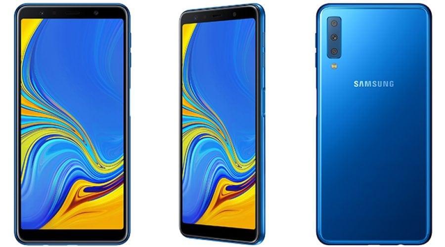 Galaxy A7, primul smartphone cu cameră triplă de la Samsung