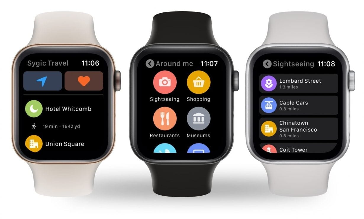 Aplicația Sygic Travel este disponibilă acum și pe Apple Watch