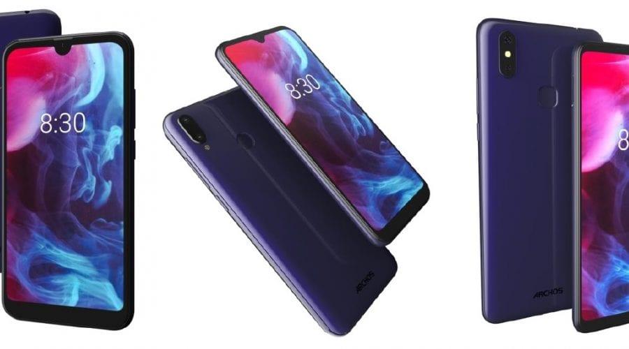 Archos anunță noi smartphone-uri din seria Oxygen