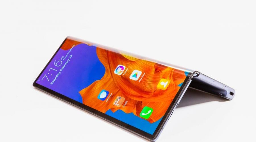 Huawei Mate X și-a schimbat designul