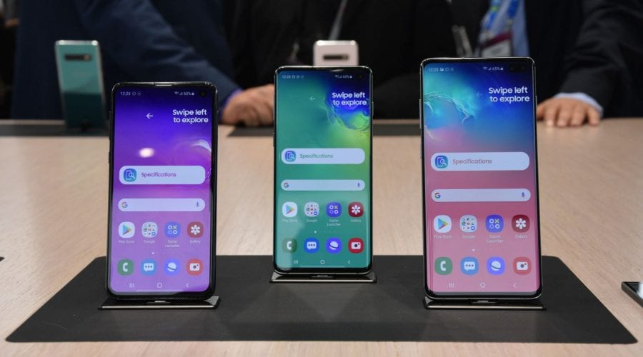 Samsung Galaxy S10 și S10 Plus hands on