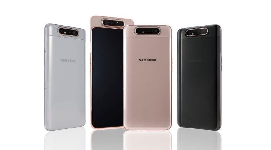 Samsung lansează smartphone-urile A20e, A40 și A80