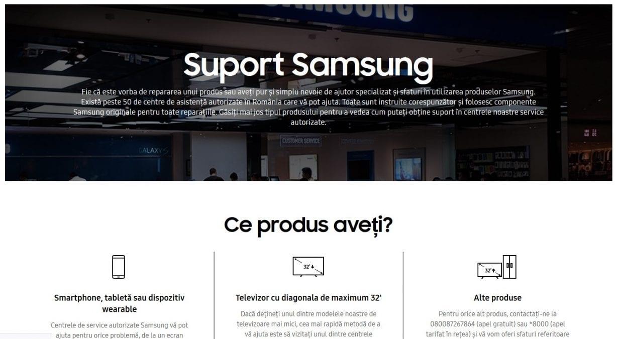Samsung România oferă asistență și suport 24/7 pentru toate dispozitivele mobile