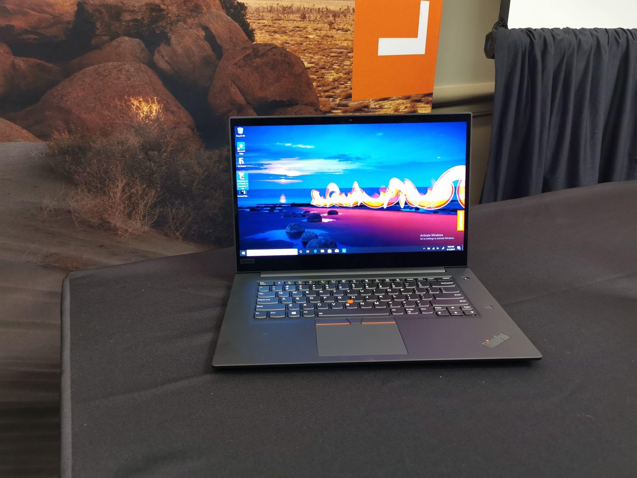 Lenovo Thinkpad X1 Extreme de generație nouă: ecran OLED 4K tactil, procesoare Intel noi, stocare de 4 TB pe SSD