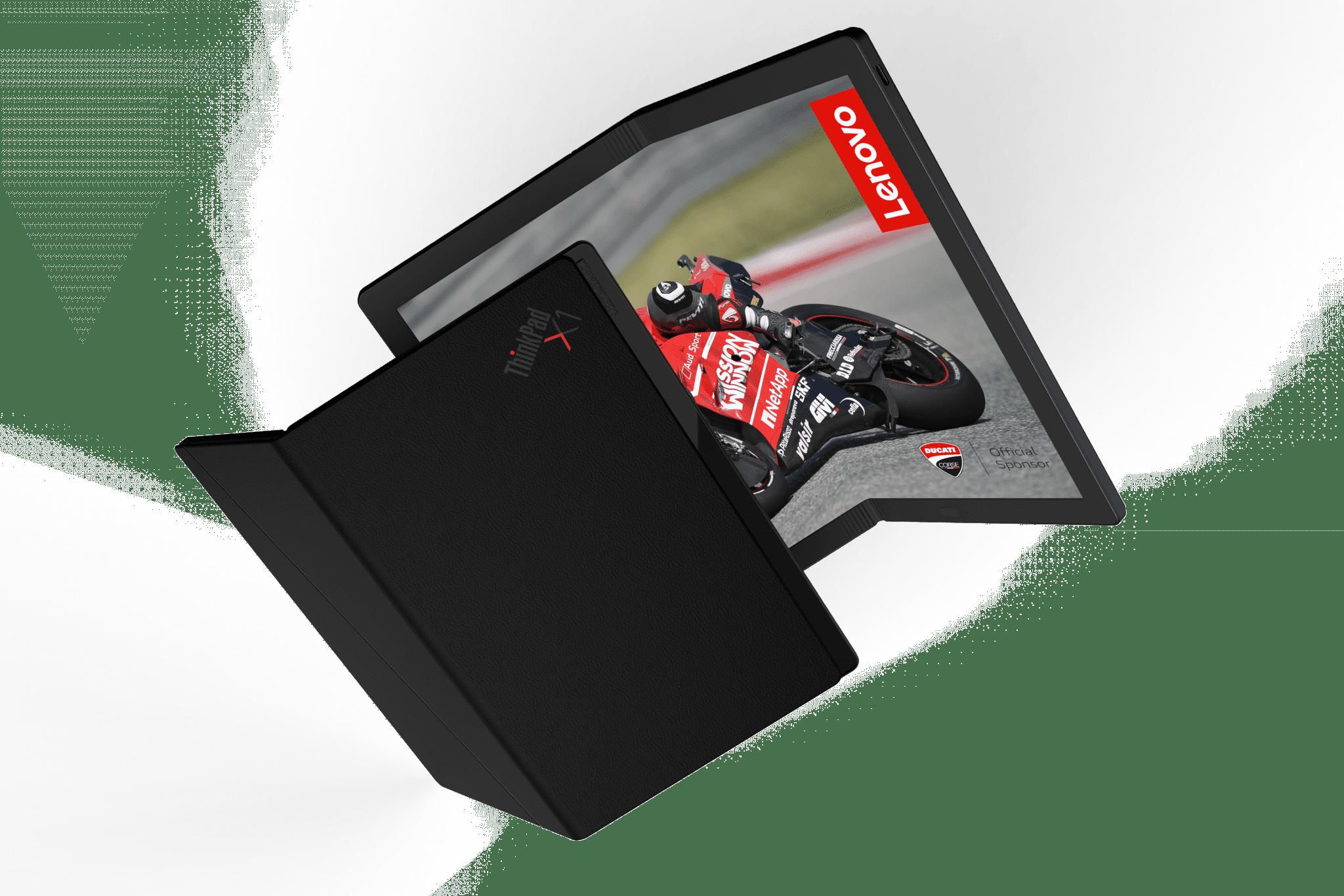 Lenovo a prezentat Foldable PC, primul laptop pliabil din lume
