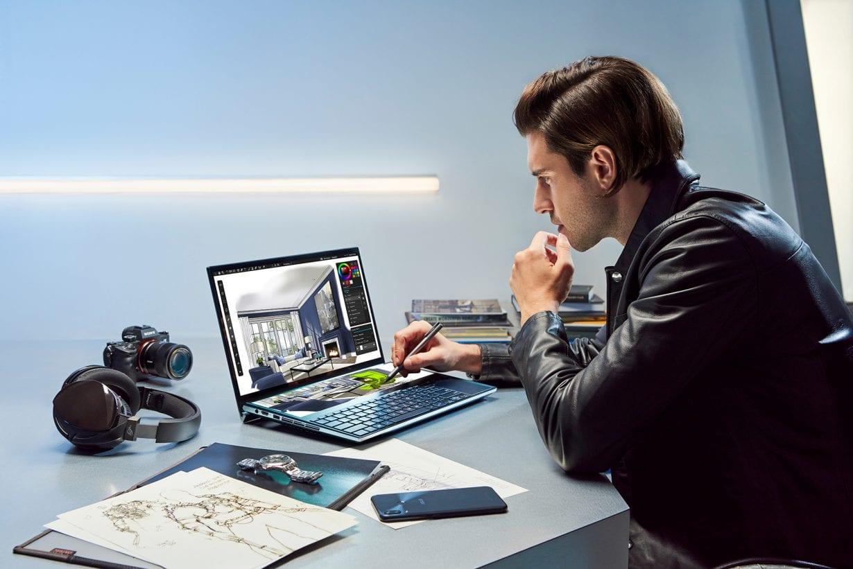 ASUS anunță ZenBook Pro Duo