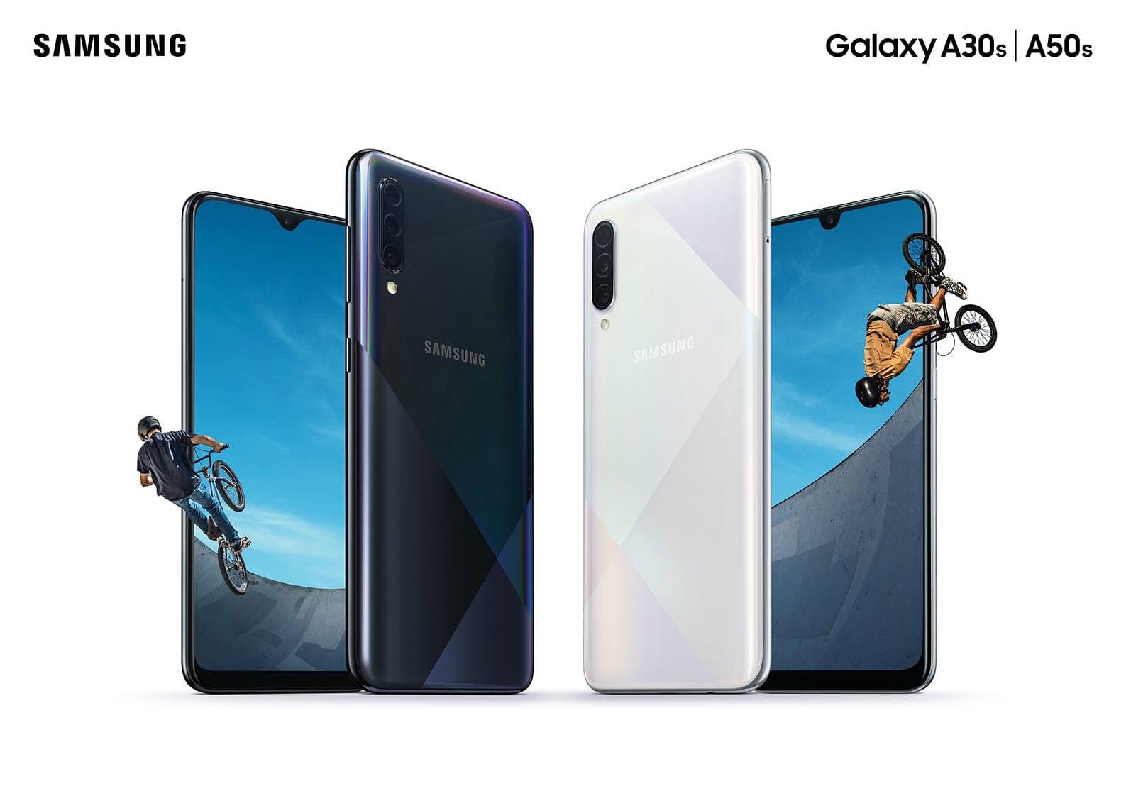 Samsung prezintă smartphone-urile Galaxy A50s și A30s