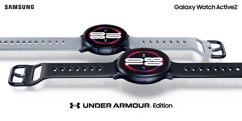 Galaxy Watch Active 2 – ediția Under Armour