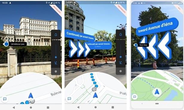 Nou în Google Maps: Live View oferă indicații de orientare prin realitatea augmentată