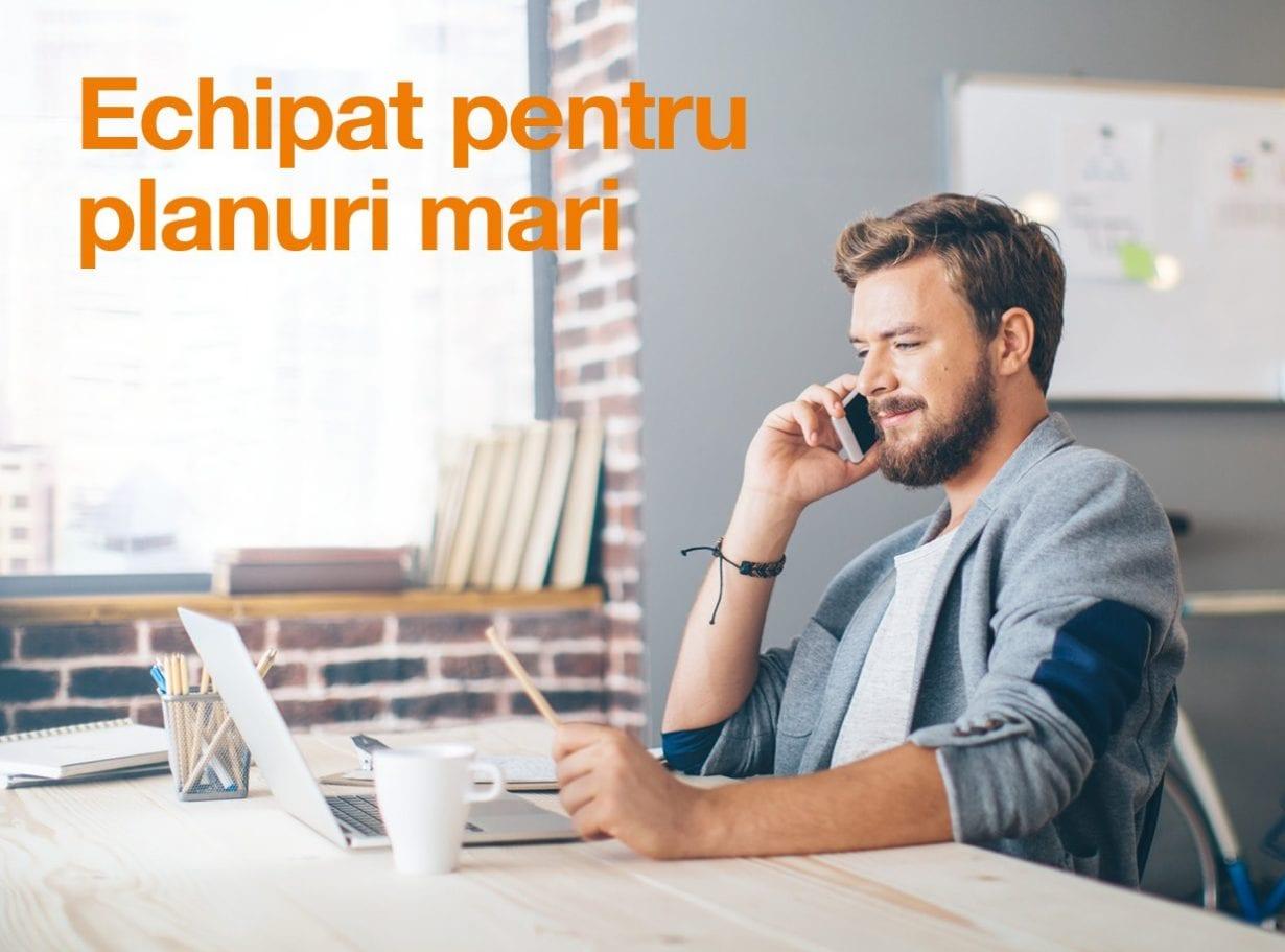 Orange anunță noi oferte dedicate antreprenorilor