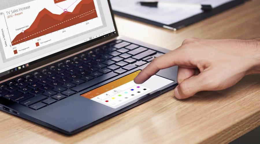 ASUS ZenBook 13 (UX334) cu ScreenPad 2.0 este disponibil pe piață, vezi preț și prezentarea video