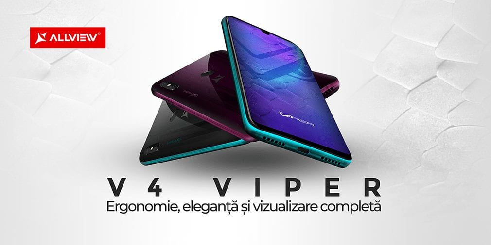 Allview anunță smartphone-urile V4 Viper și V4 Viper Pro