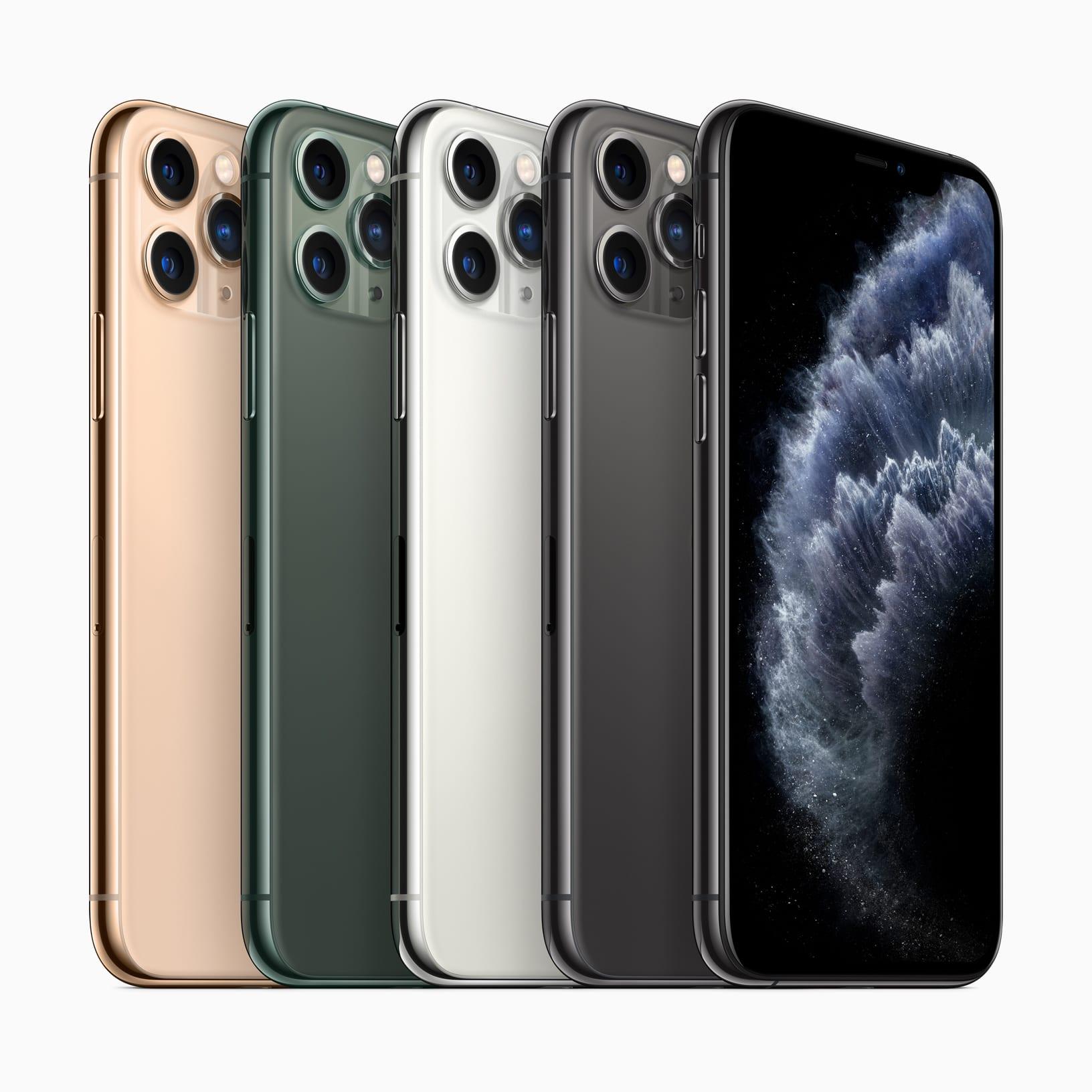 iPhone 11 Pro și 11 Pro Max, vin cu iOS 13 și sistem de trei camere principale