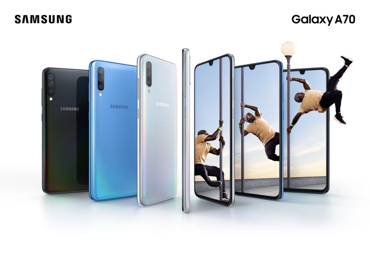 Către vârf: review cu Samsung Galaxy A70