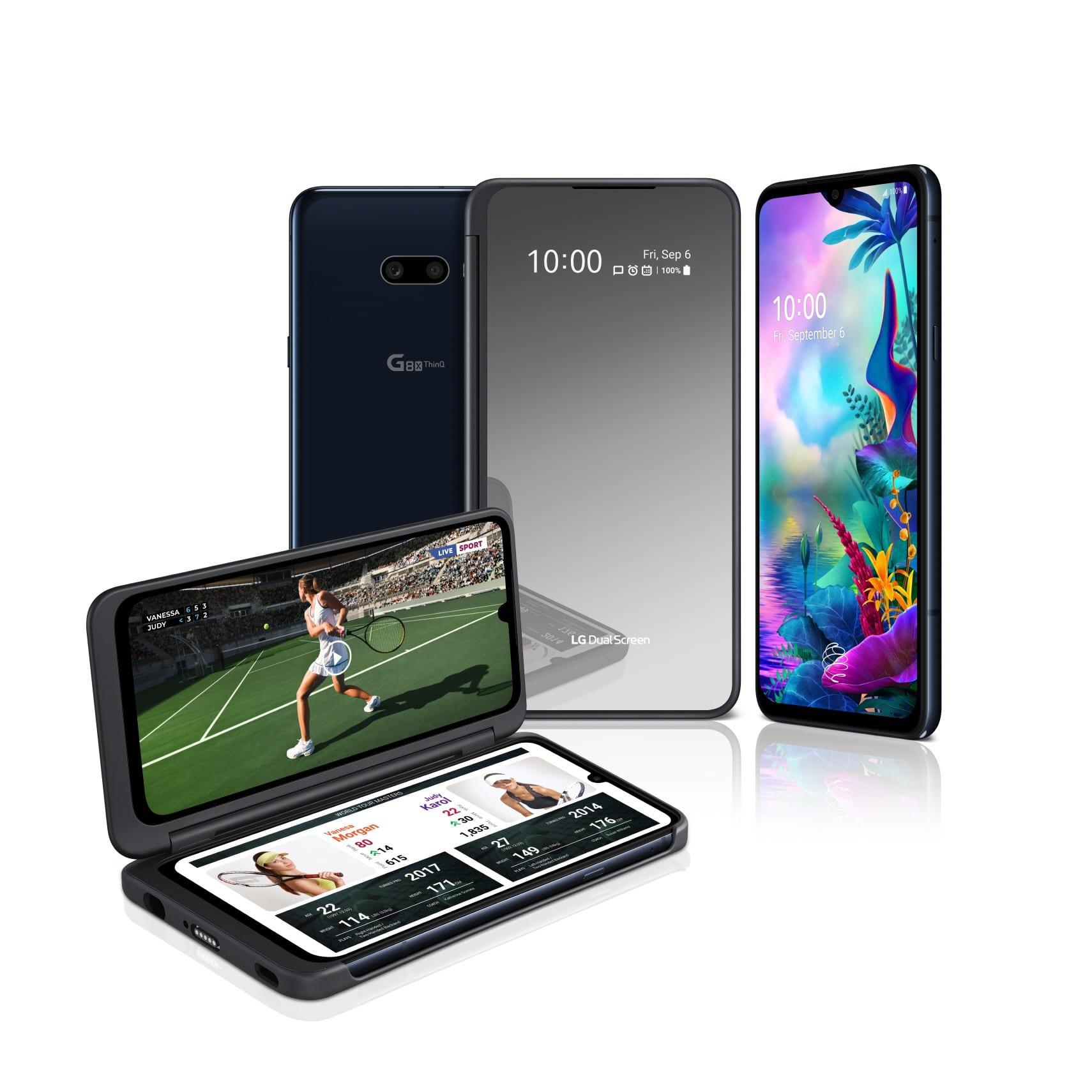 LG G8X ThinQ, vine cu LG Dual Screen