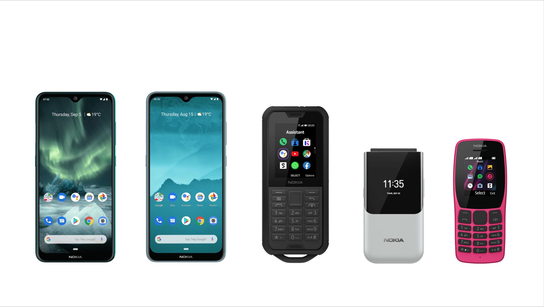 HMD Global a prezentat cinci noi smartphone-uri Nokia