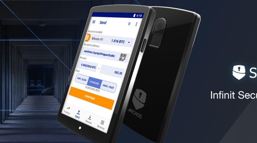ARCHOS a introdus comercial SafeT touch, un portofel hardware pentru criptomonede, îți spunem cât costă