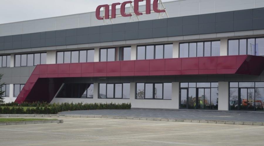 Arctic a investit 150 de milioane de euro pentru prima fabrică operațională Industry 4.0 din România