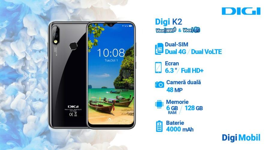 Digi Mobil anunță propriile smartphone-uri 5G: Digi C2, Digi R2 și Digi K2, pot fi testate la târgul Go Tech World 2019