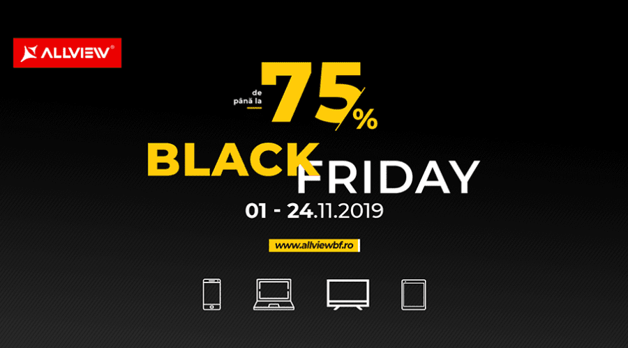 Allview a dat startul campaniei de Black Friday
