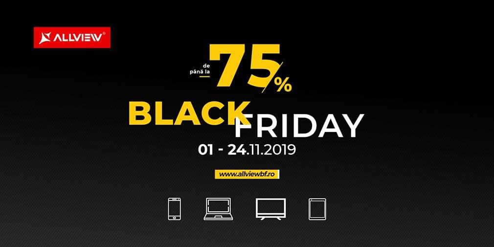Allview a dat startul campaniei de Black Friday