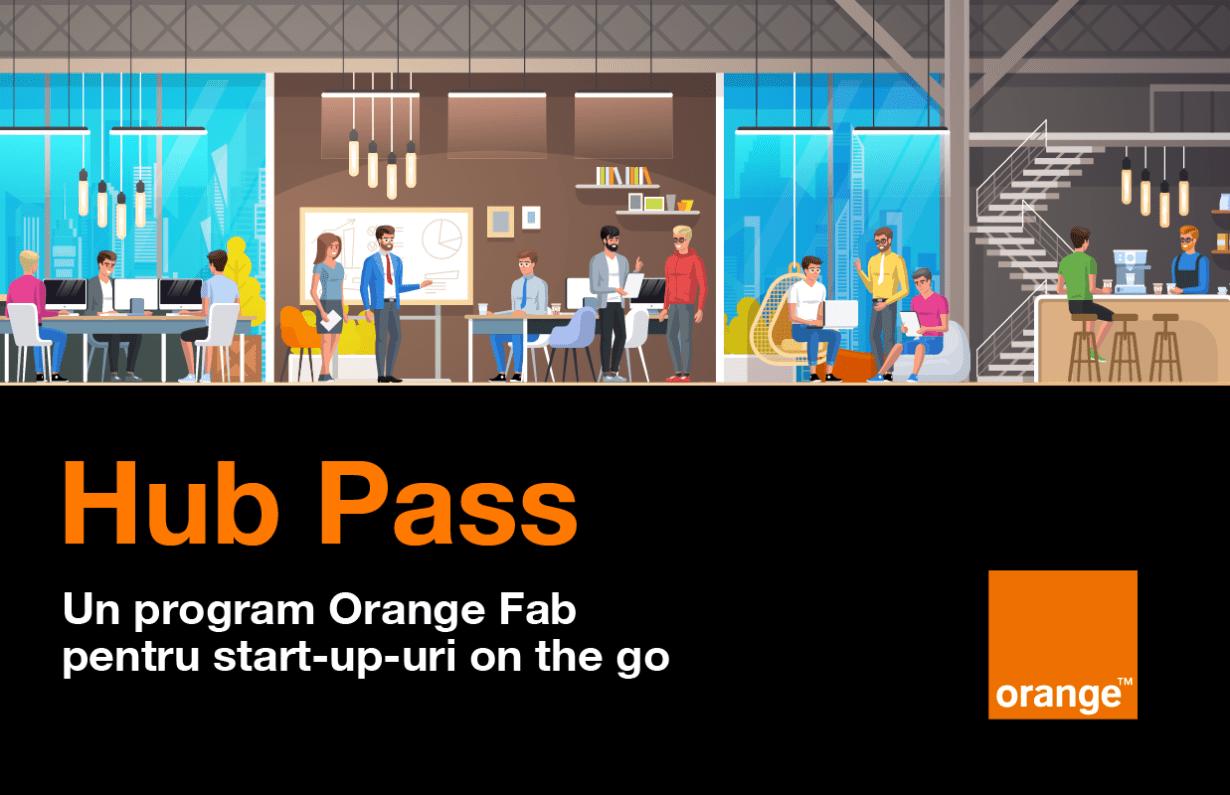 Hub Pass, un program Orange Fab pentru mobilitatea startup-urilor
