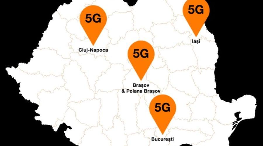 Orange extinde rețeaua 5G în Braşov şi Poiana Braşov