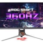ROG Swift 360Hz, primul monitor de gaming NVIDIA G-SYNC la 360Hz