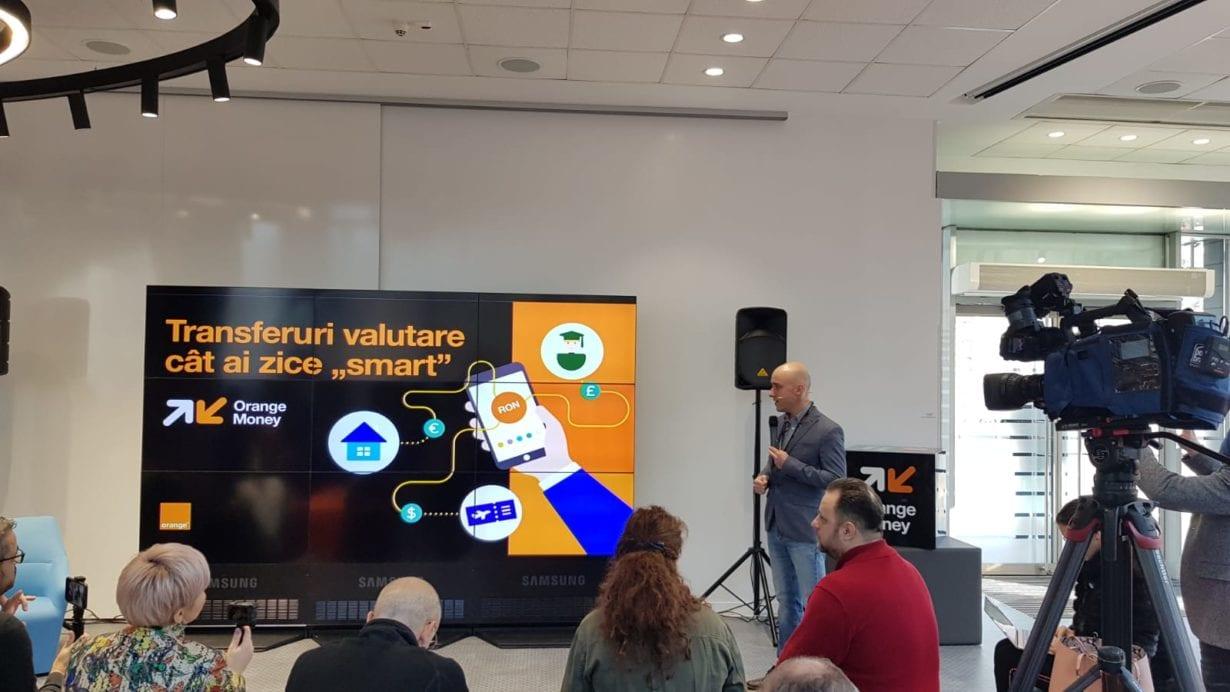 Orange Money oferă opțiunea de transferuri valutare în aplicație
