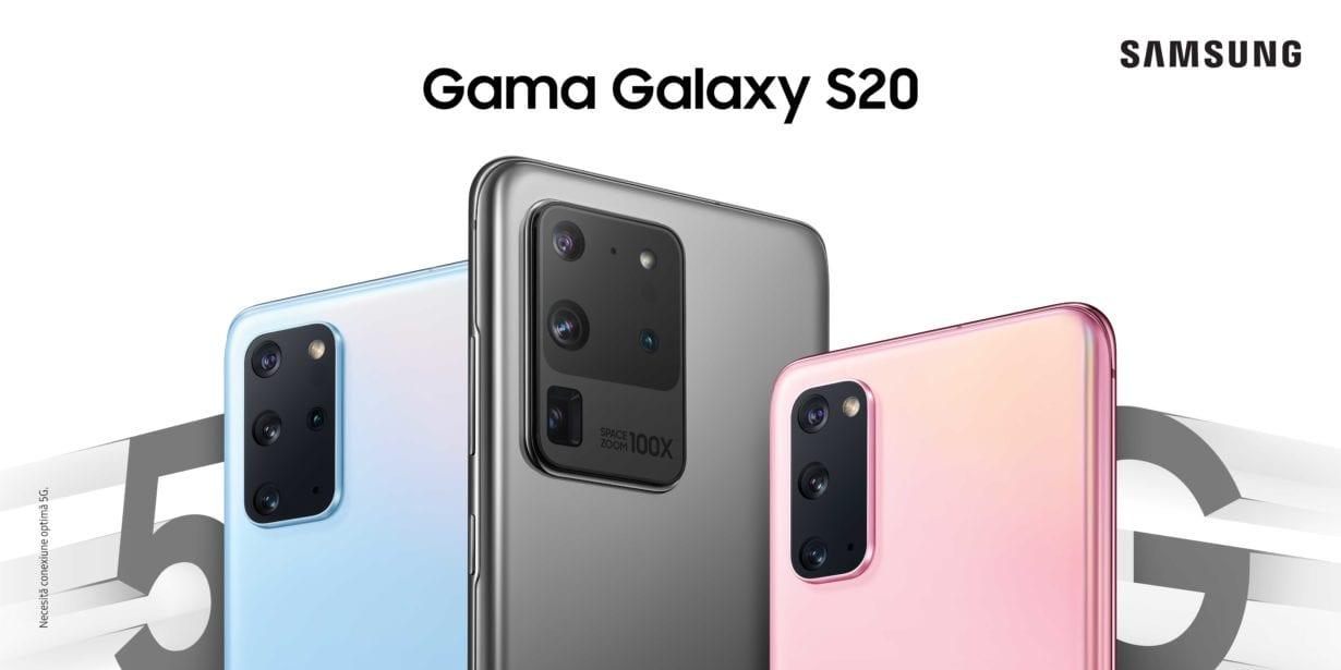 Modele Galaxy S20 sunt disponibile și la noi