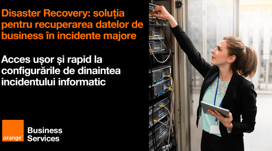 Orange introduce Disaster Recovery